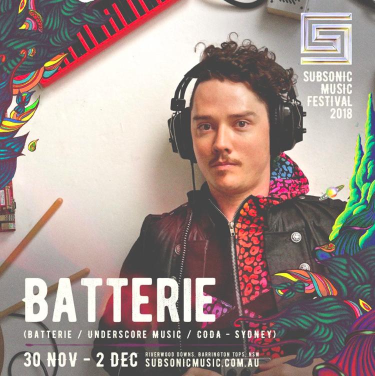 BATTERIE - sub sonic fest poster
